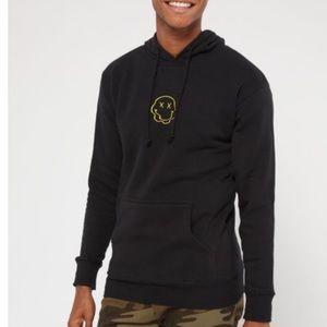 Rue21 Shirts - RUE21 smiley hoodie